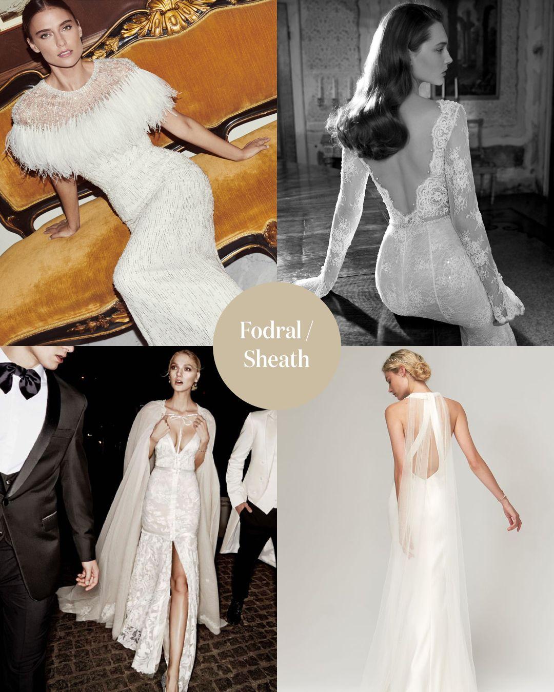 Fodral Sheath En klänning med fodralskärning liknar