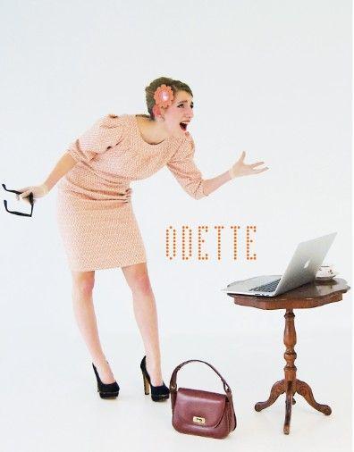 e352e83da2b498 Retro kleedje Odette