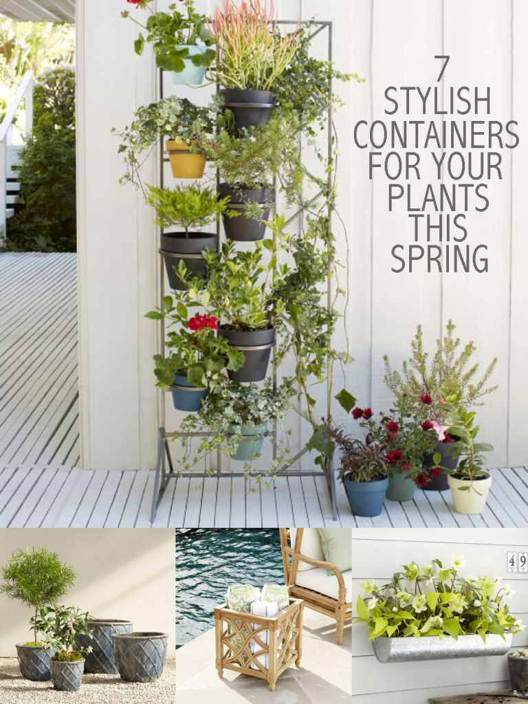 7 Stylish Containers for Your Plants this Spring Carmen