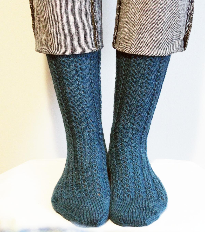 Labores en Red: 2143.- Patrones de punto: aprende a tejer calcetines ...