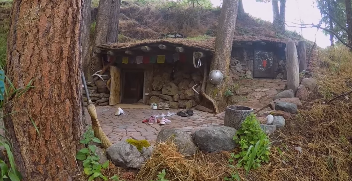 """You won't believe this amazing video of Dan Price, who lives in a self-described """"hobbit hole,"""" just outside of Joseph, a small town way out in Eastern Oregon."""
