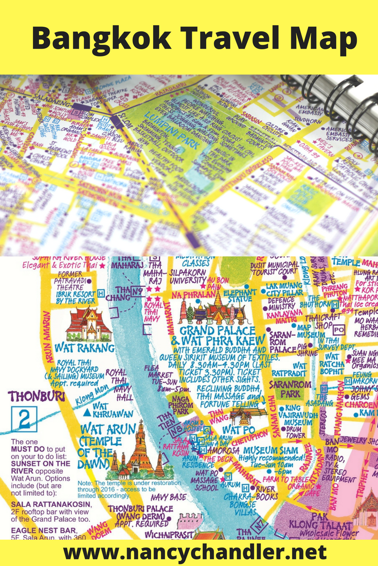 Have a unique travel experience in Bangkok using the most unique map