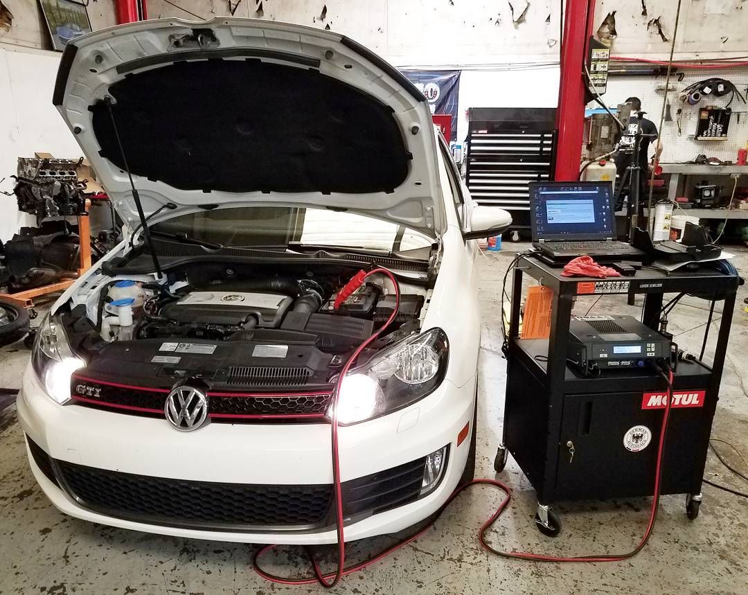 APR software update for a 2012 GTI  #germanautohaus