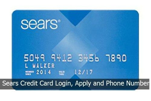 Sears Credit Card Login, Apply and Phone Number  Credit card