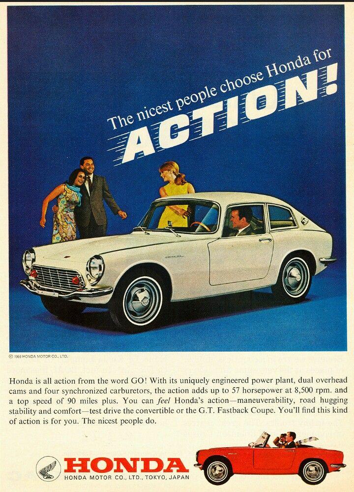 1966 Honda S600 | Classic Cars | Pinterest | Honda, Cars And Japanese Cars