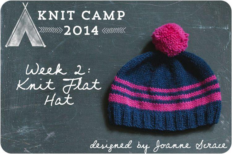 Knit flat hat knitting knitting patterns free hats