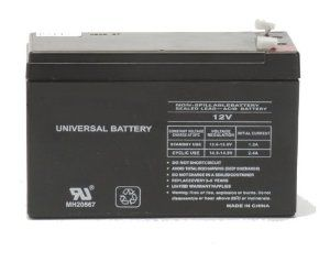 12 Volt 9 Amp Hour Rechargeable SLA Battery (F2 Terminals) by ExpertPower. $22.01