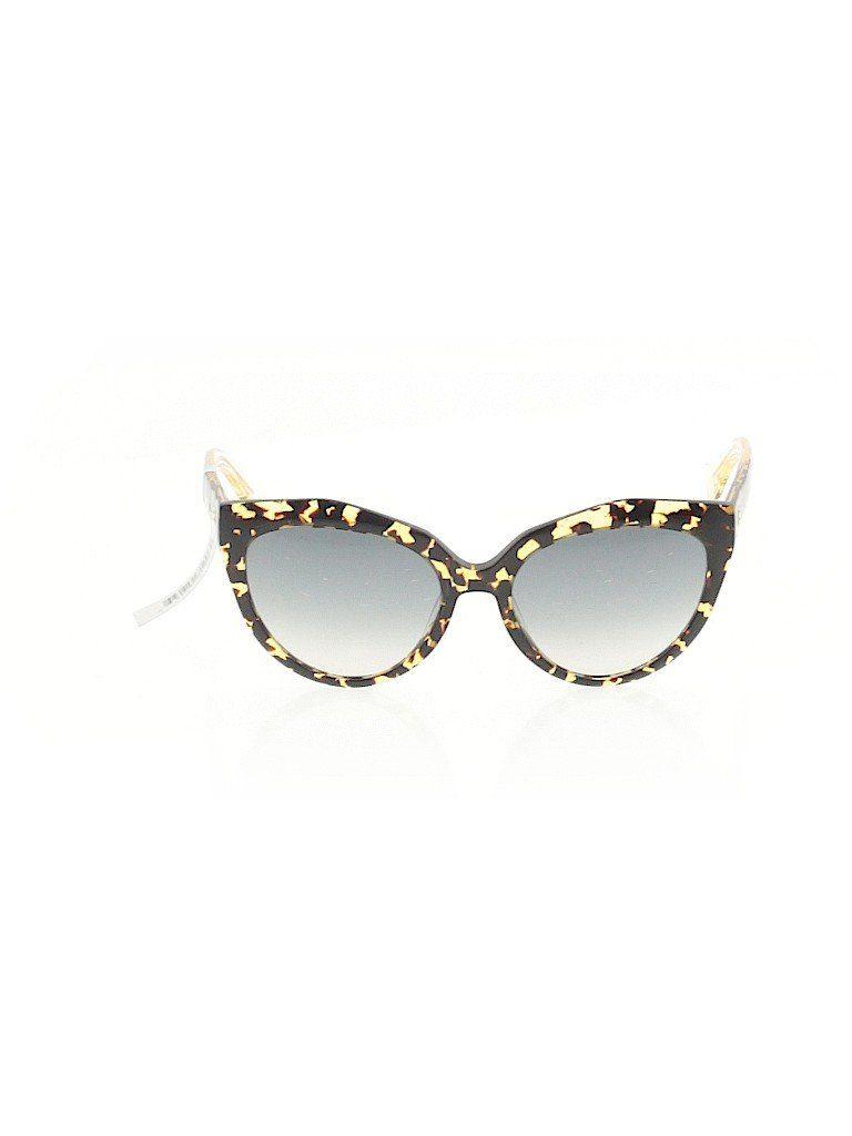 Balenciaga Sunglasses: Brown Accessories