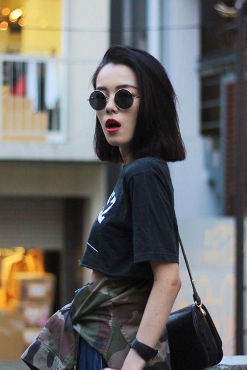 The Street Style Style Grunge Hair Short Hair Styles
