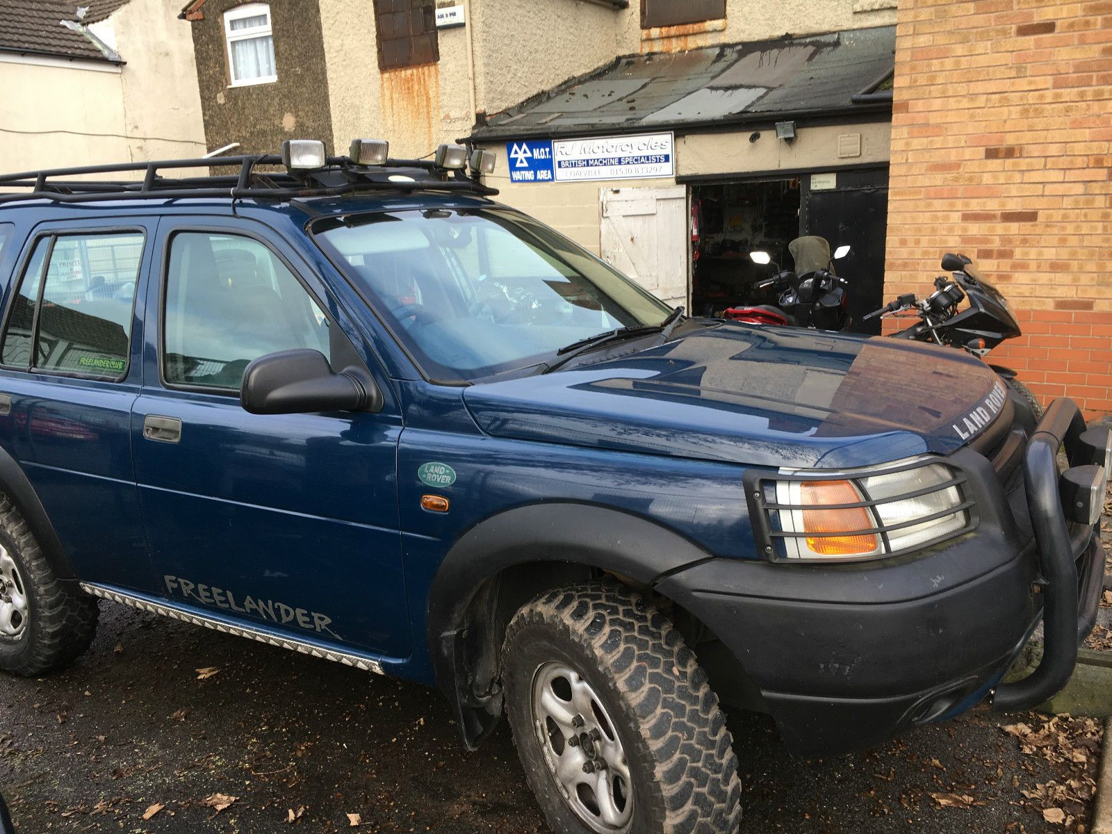 1998 land rover freelander xedi s wagon blue green laner off road