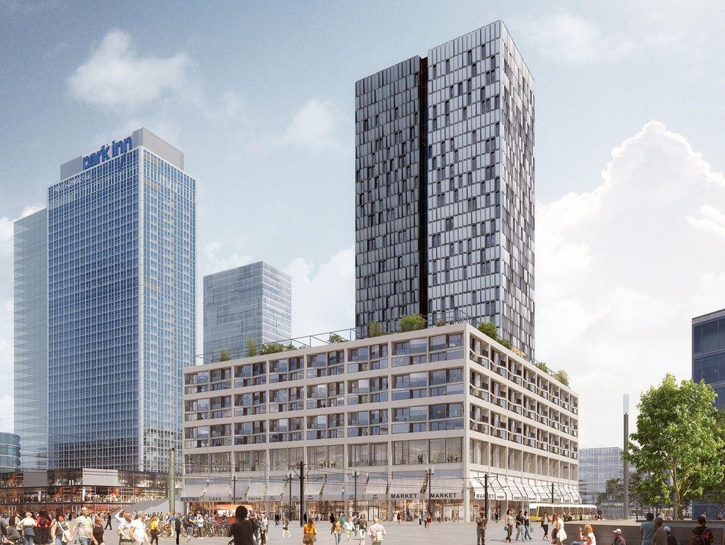 Berlins Skyline Bekommt Zuwachs In 2020 Mit Bildern Berlin Skyline Hochhaus Neubau Plane