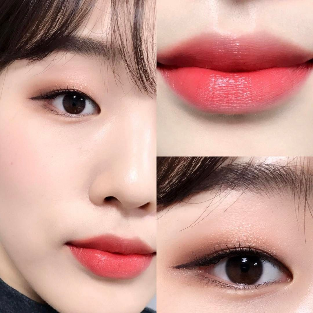 Korean Make Up Look Korean Eye Make-Up Natural Look ...