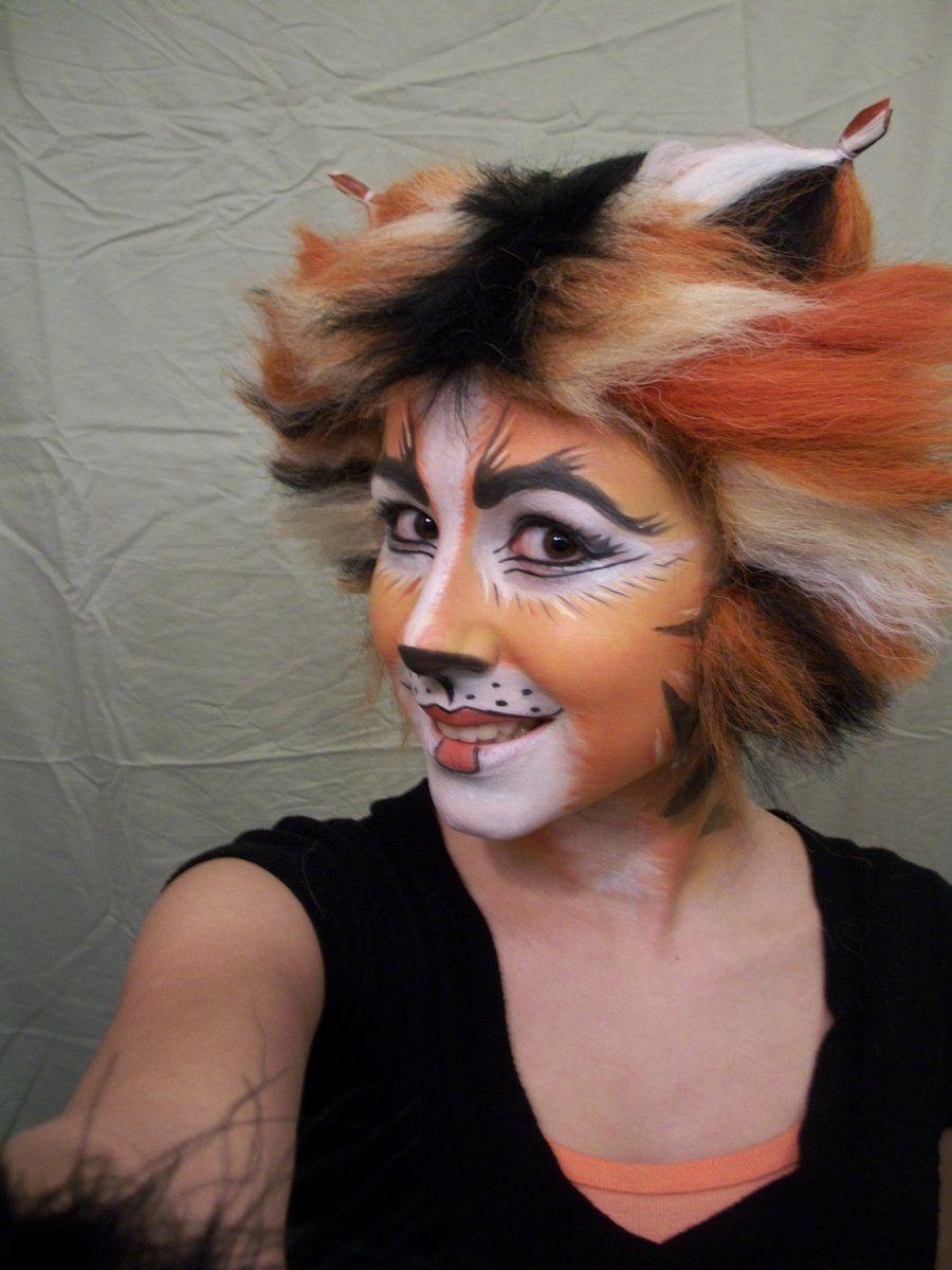Rumpleteazer Cats musical, Cat makeup, Theatrical makeup