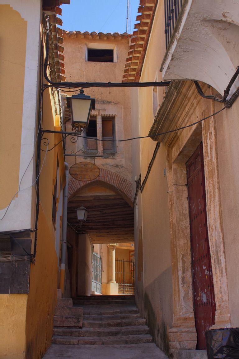 Calle del Arco, Chinchilla de Montearagón, Castilla-La Mancha