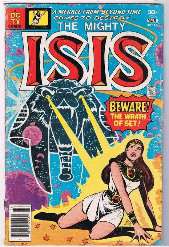 Dc Comics Isis 1976 Isis 3 Comic Book Isis 1976