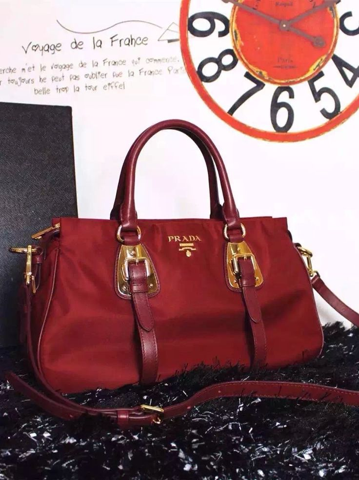 a7caf0df1f Prada Tessuto nylon top handle convertible bag can be used as a top handle  bag
