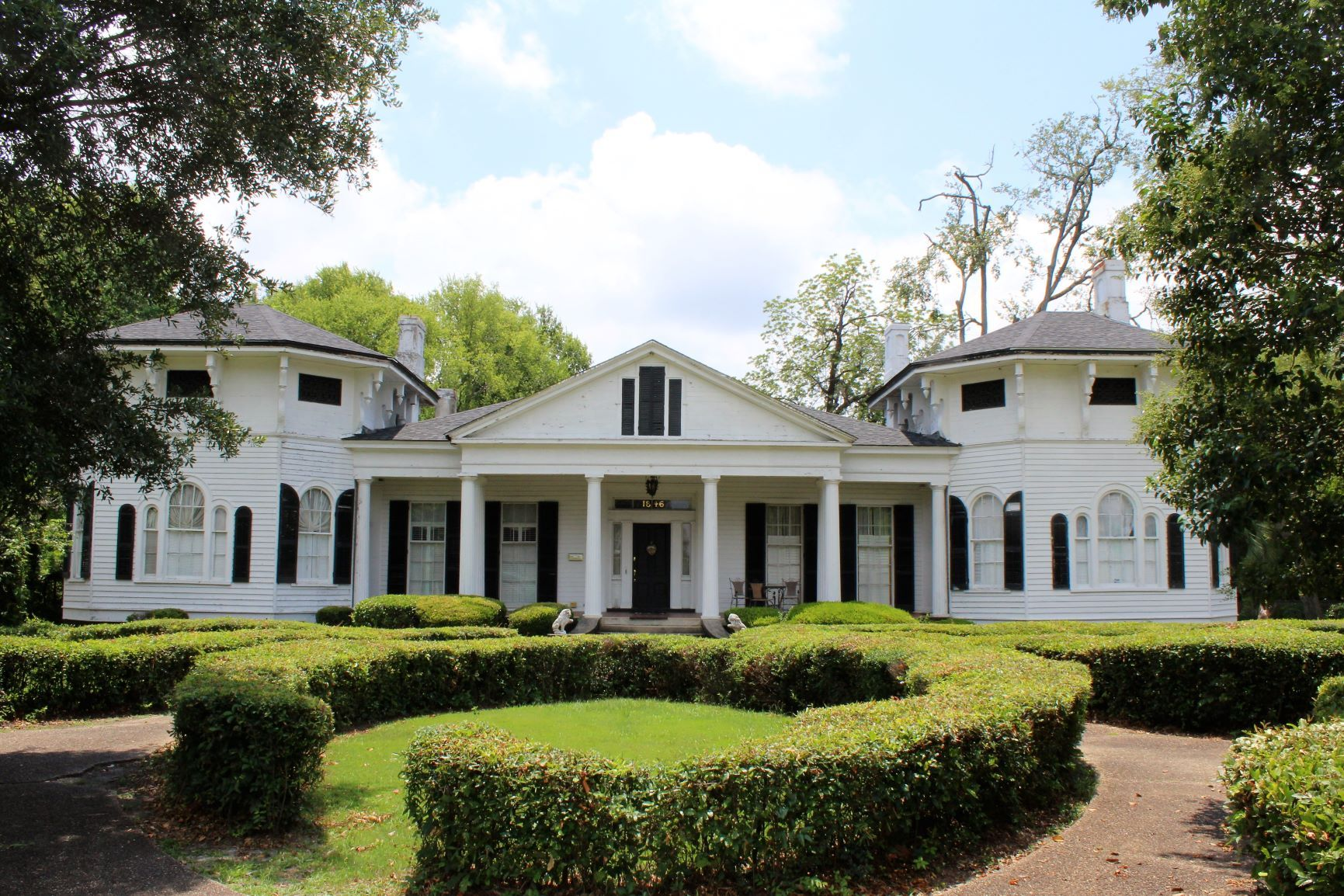 The Elms Greek Revival Cottage Antebellum Homes Greek Revival Architecture Georgia Homes