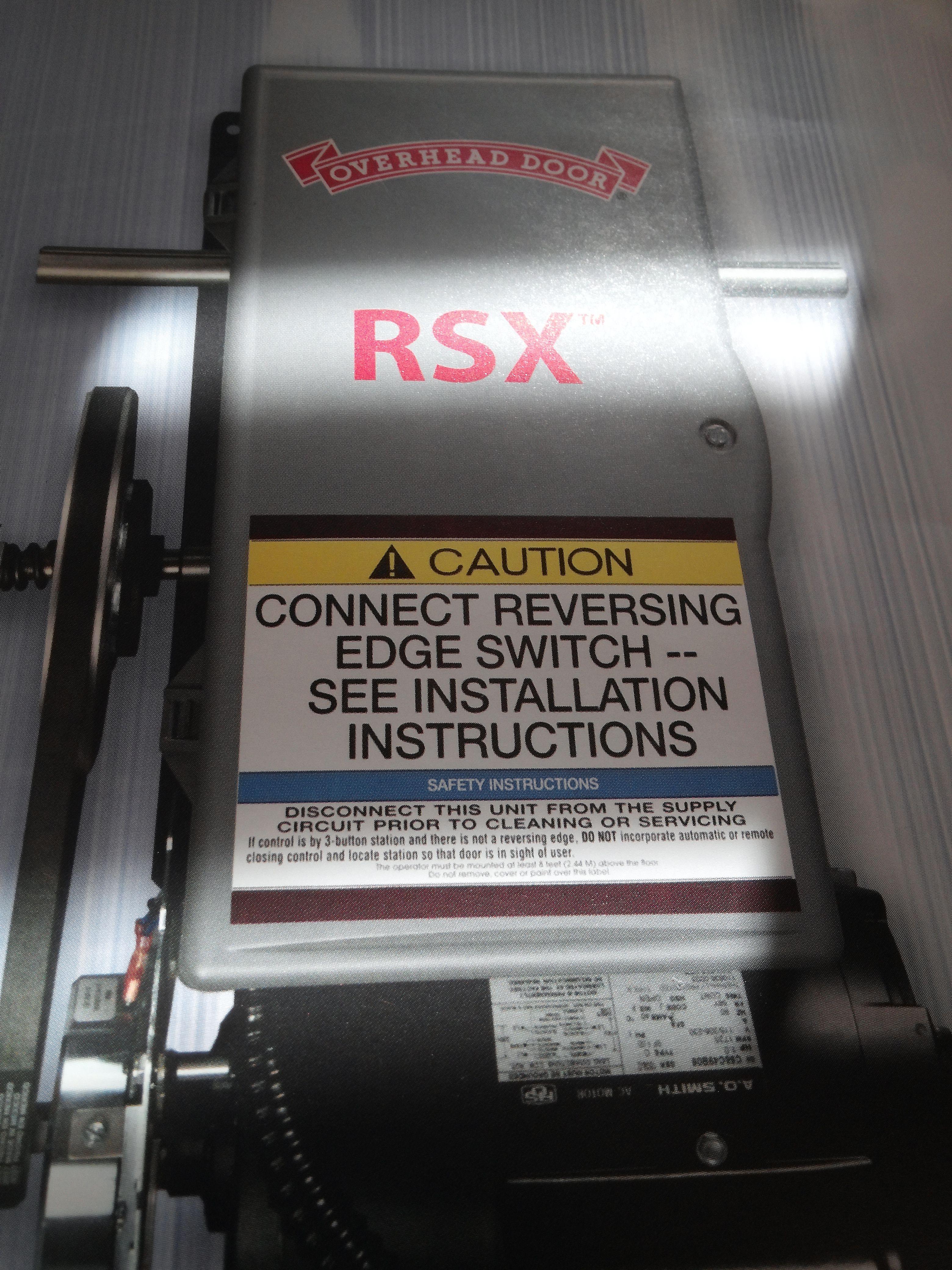 Overhead Door Rsx Commercial Operator Overhead Door Openers