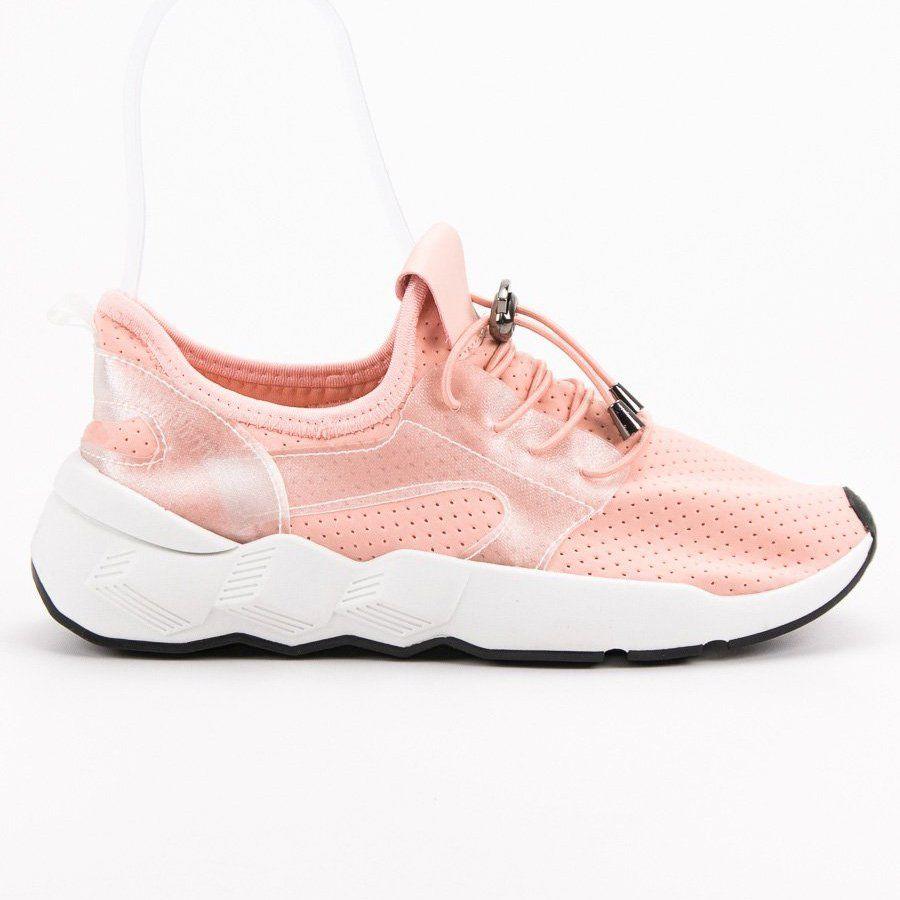 Obuwie Sportowe Rozowe Shoes Sneakers Fashion