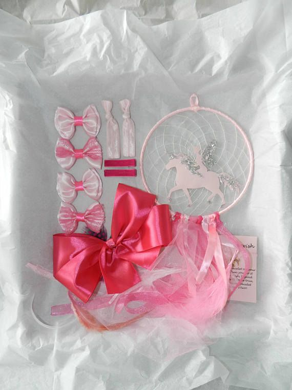 Fairy dream catcher Unicorn dream catcher Unicorn gift box