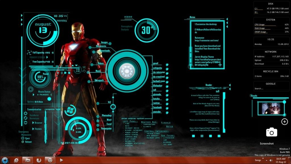 10 Top Iron Man Jarvis Wallpaper Full Hd 1920 1080 For Pc Desktop Live Wallpaper For Pc Iron Man Hd Wallpaper Wallpaper Pc