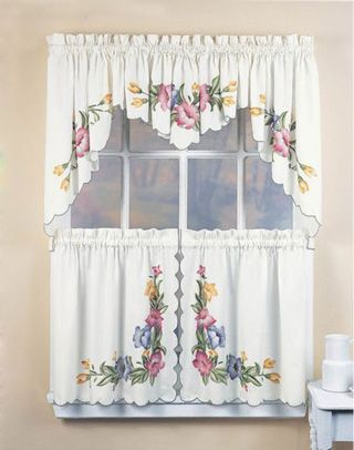 Lily 5-Piece Kitchen Curtain Tier Set | mee in 2019 ...
