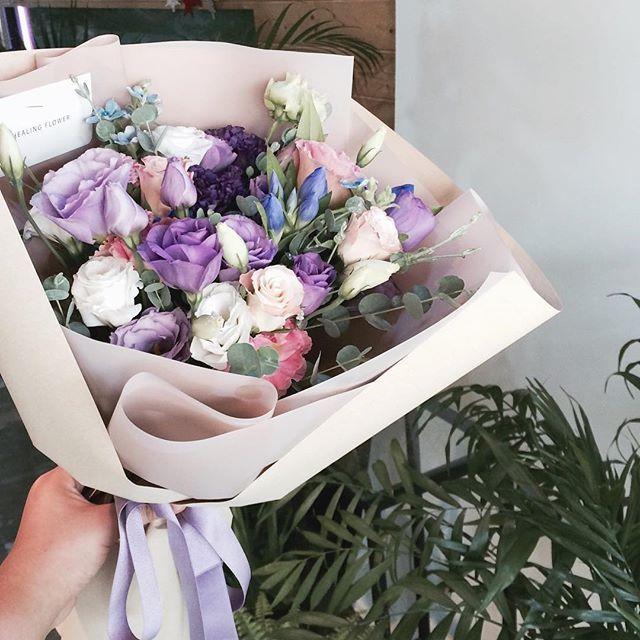 . 보라보라 보라돌이~~ 보라리샨 매력철철✔✔ 이제 구르미를 본방사수 대기해볼까요 꺄울 . . #꽃스타그램 #꽃그램 #평택…