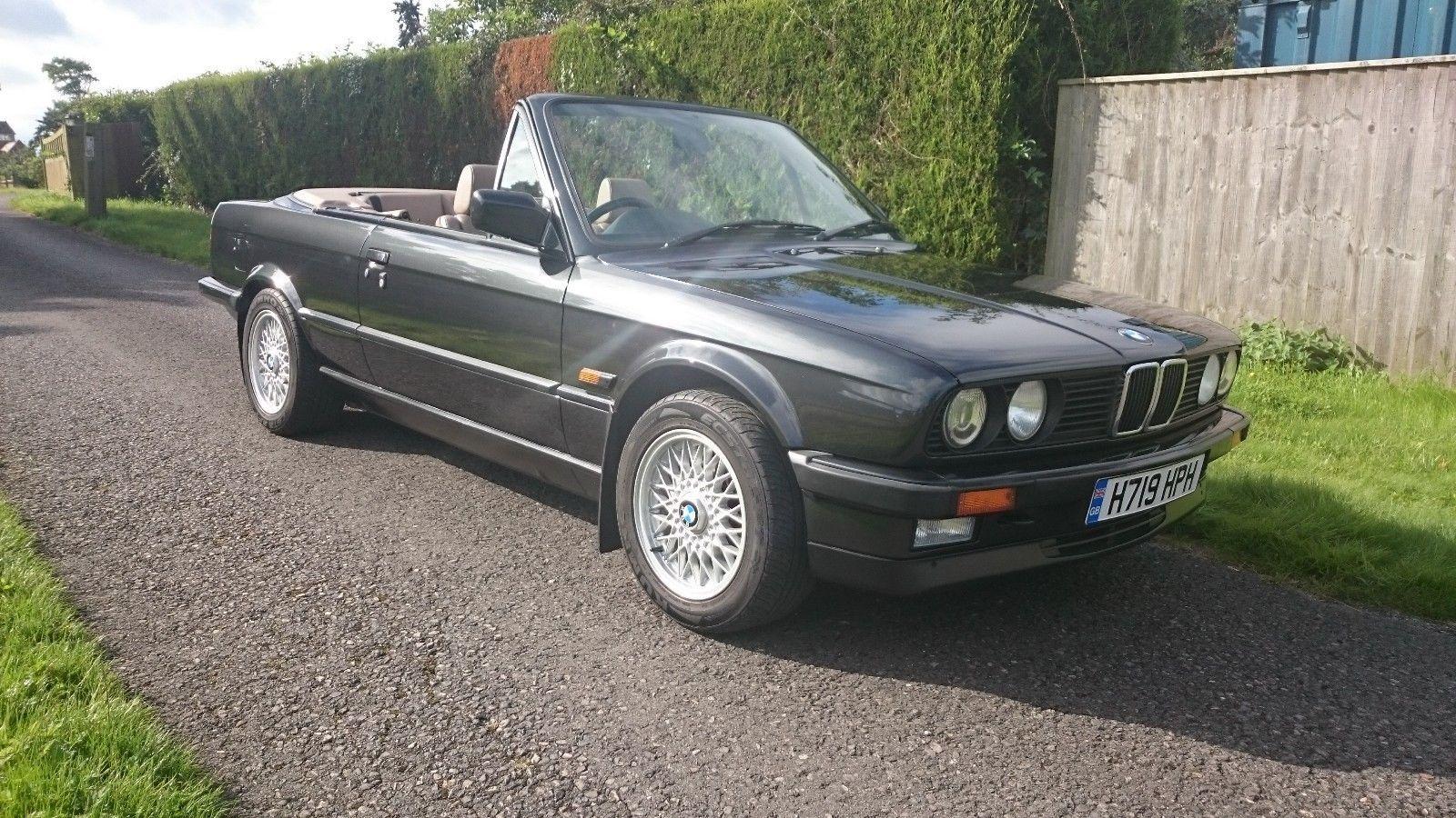 eBay: BMW E30 325i manual convertible #1990s #cars
