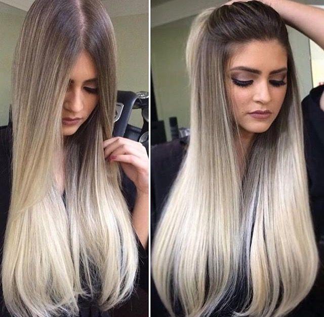 Definitely Hair Goals Color Melting Hair Blonde Hair Color Ash