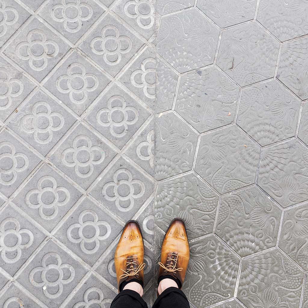 Paseo De Gracia Barcelona Floors タイル デザイン デザイン タイル