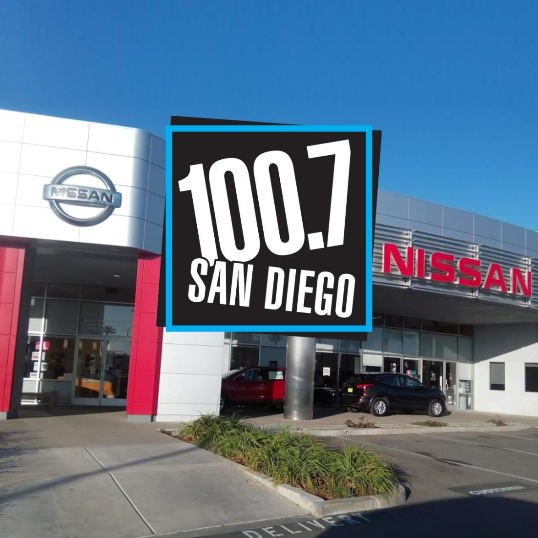 Radio station 100.7 San Diego will be at Mossy Nissan
