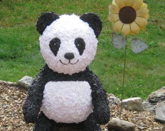 Panda Bear Pinata - MADE TO ORDER
