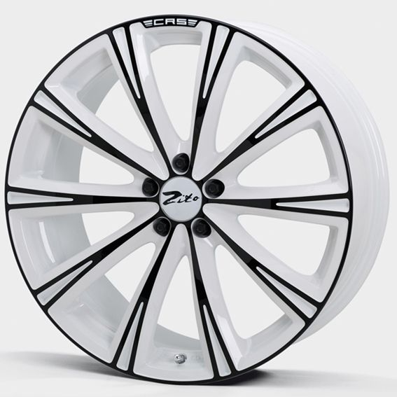 Great 20 2019 Trd Style Satin Black Wheels Fits Toyota: 20 ZITO CRS WHITE ANODISED BLACK Alloy Wheels For 5 Studs