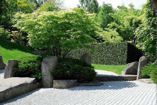 Japanese Style Garden Japan Garden Japanese Garden Design Garden Design