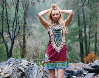 brand new 3294e a1713 Short Day Tripper Hoodie Dress, Pachamama Brown, Festival ...