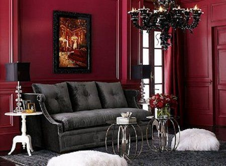 Gothic3 Gothic Living Rooms Victorian Living Room Gothic Home Decor
