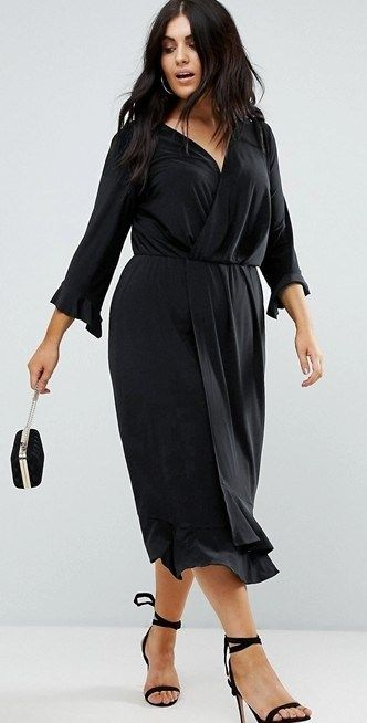 54f23bbe659 33 Plus Size Wedding Guest Dresses  with Sleeves  - Plus Size Cocktail  Dresses - alexawebb.com