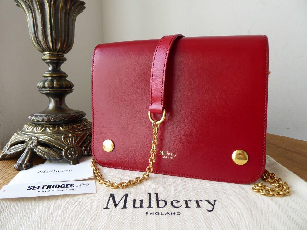 Mulberry Clifton Shoulder Bag In Scarlet Crossboarded Calf In 2020 Shoulder Bag Bags Mulberry Clifton