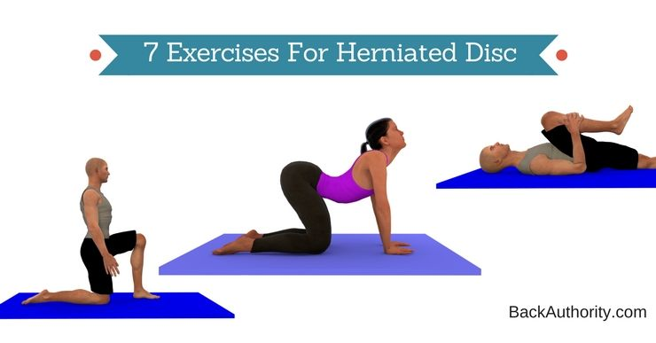 7 Herniated Disc Exercises For Lower Back Lumbar Area With
