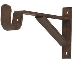 curtain rod bracket 6 inch projection