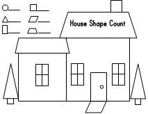 shape house color count families houses and homes pinterest house colors printable. Black Bedroom Furniture Sets. Home Design Ideas