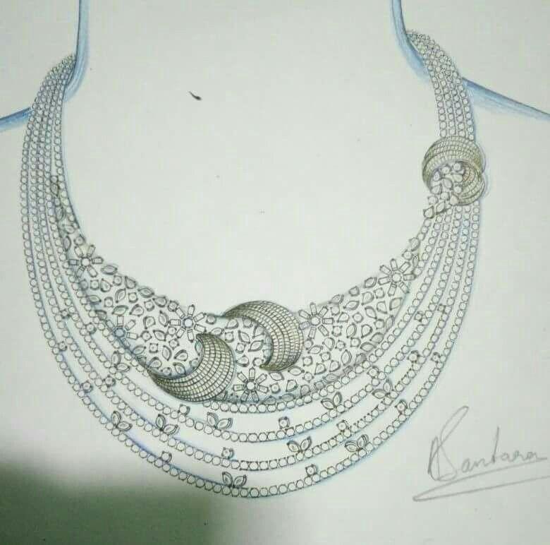 Pin by Karishma Nevatia on jewelry sketches Pinterest Jewellery