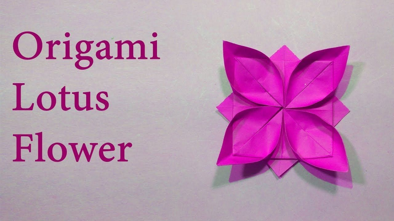 Christmas Gift For Kids Origami Flowers Diy Origami Paper Crafts