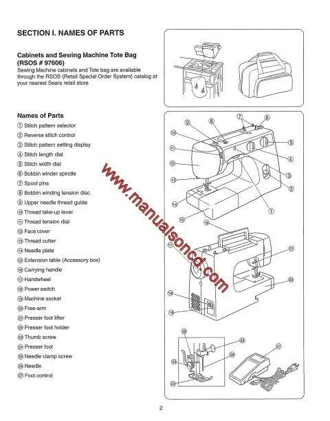 Bernina Bernette  Sewing Machine Instruction Manual