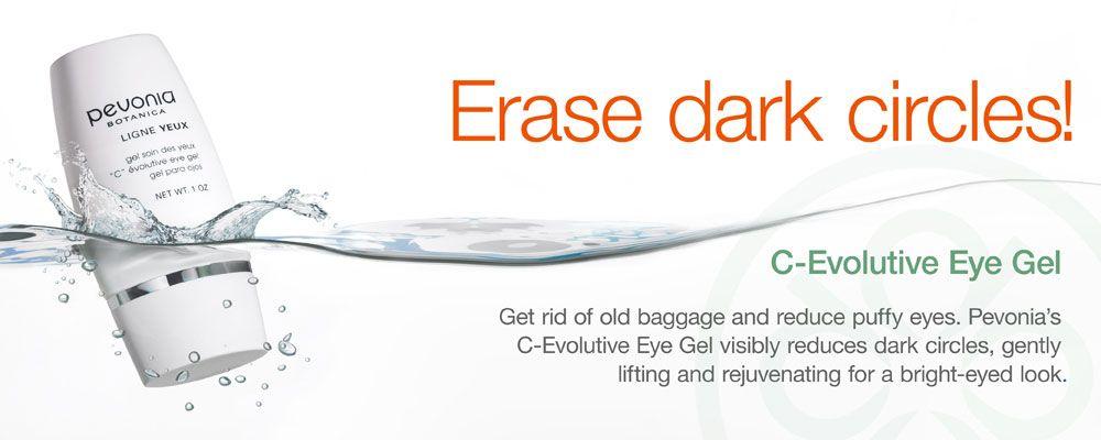 Erase dark circles with C-Evolutive Eye Gel