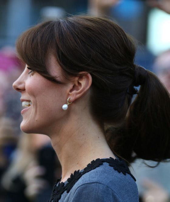 Prinzessin Kate Frisur