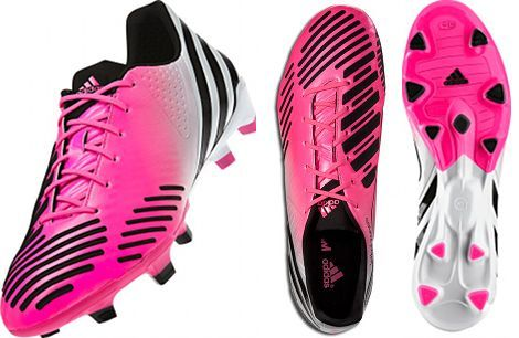 7f045c5a33e1 David Beckham s new  Olympic Pink  adidas Predator Lethal Zones football  boots