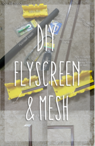 How To DIY Flyscreen and Meshing Diy, Screen tight, Pet