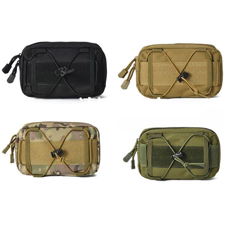 Pendant Edc Pouch Flashlight Pocket Tactical Hunting 600D Nylon Belt Waist Bag