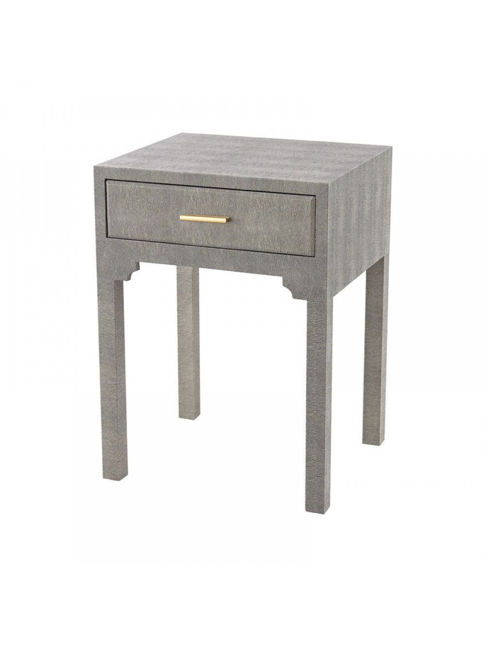 Melana Bedside Table Gray And Gold Furniture Grey Side Table Sofa Tables